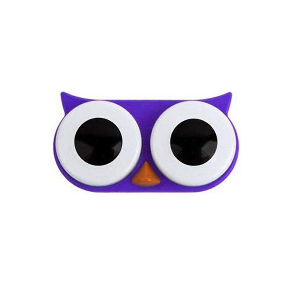 OH Fashion Contact Lens Case Owl Purple - Superpharma Corporation - ohfashion