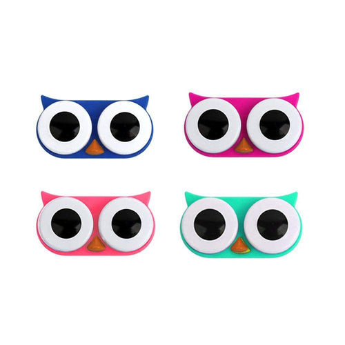 OH Fashion Contact Lens Case Owl Pack of Four - Superpharma Corporation - ohfashion