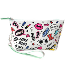 Load image into Gallery viewer, OH Fashion Cosmetic Bag Rocking In White - Superpharma Corporation - ohfashion