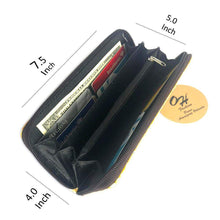 Load image into Gallery viewer, OH Fashion Women's Wallet Romance in Paris Souvenir Gift Single Zip Around Coin Wallet Handbag Cities Design Medium Size - Superpharma Corporation - ohfashion