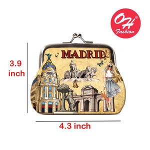 OH Fashion Coin Purse Chic Madrid - Superpharma Corporation - ohfashion