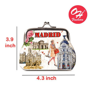 OH Fashion Coin Purse Elegant Madrid - Superpharma Corporation - ohfashion