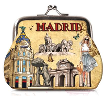 Load image into Gallery viewer, OH Fashion Coin Purse Chic Madrid - Superpharma Corporation - ohfashion