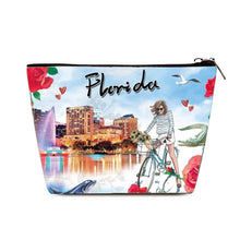 Load image into Gallery viewer, OH Fashion Cosmetic Bag Explore Florida - Superpharma Corporation - ohfashion