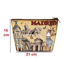 Load image into Gallery viewer, OH Fashion Cosmetic Bag Chic Madrid - Superpharma Corporation - ohfashion