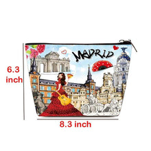 Load image into Gallery viewer, OH Fashion Cosmetic Bag Discovering Madrid - Superpharma Corporation - ohfashion