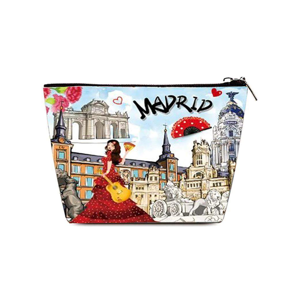 OH Fashion Cosmetic Bag Discovering Madrid - Superpharma Corporation - ohfashion