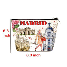 Load image into Gallery viewer, OH Fashion Cosmetic Bag Elegant Madrid - Superpharma Corporation - ohfashion