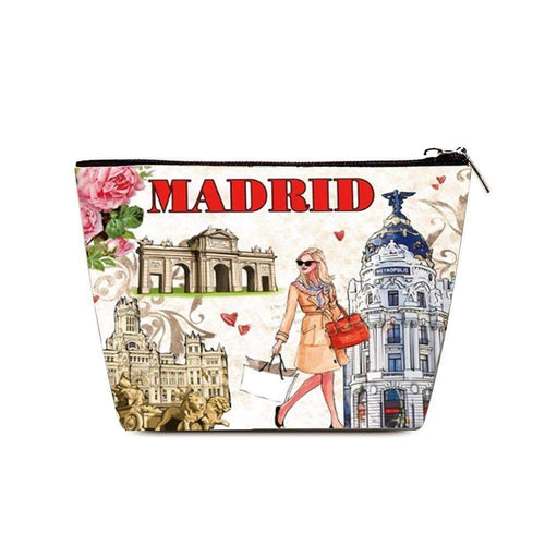 OH Fashion Cosmetic Bag Elegant Madrid - Superpharma Corporation - ohfashion