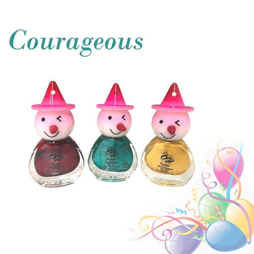 OH Fashion Nail Polish Clown SET COURAGEOUS - Superpharma Corporation - ohfashion