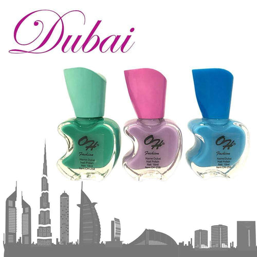 OH Fashion Nail Polish Apple Bite DUBAI SET 3 - Superpharma Corporation - ohfashion