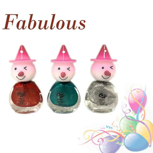 OH Fashion Nail Polish Clown SET FABULOUS - Superpharma Corporation - ohfashion