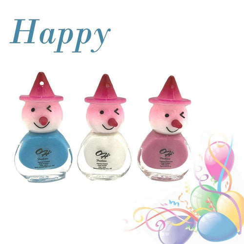 OH Fashion Nail Polish Clown SET HAPPY - Superpharma Corporation - ohfashion