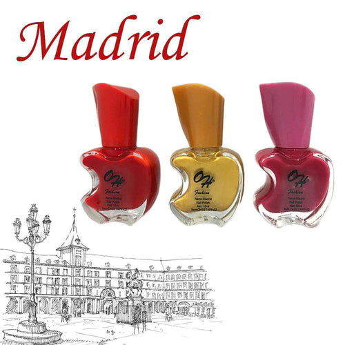 OH Fashion Nail Polish Apple Bite SET MADRID - Superpharma Corporation - ohfashion