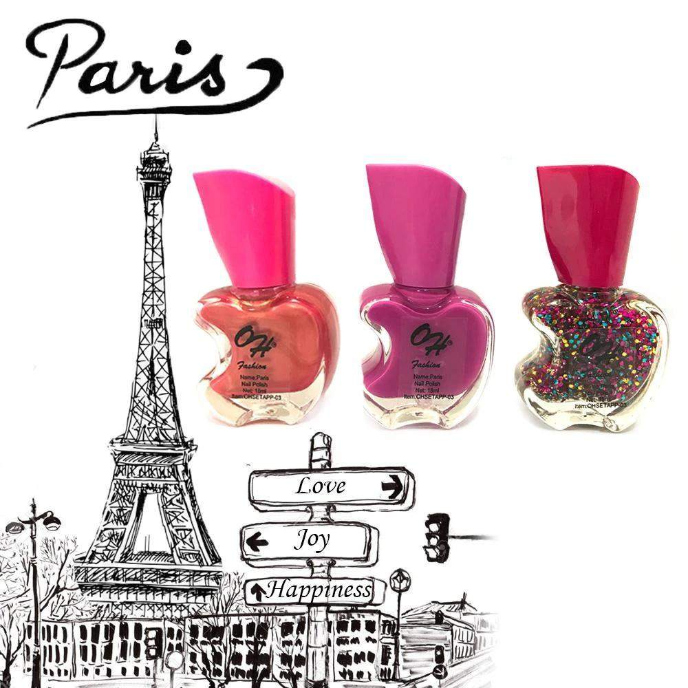OH Fashion Nail Polish Apple Bite SET PARIS - Superpharma Corporation - ohfashion