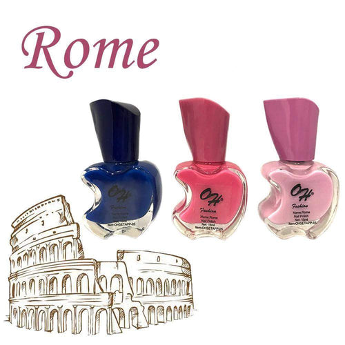 OH Fashion Nail Polish Apple Bite SET ROME - Superpharma Corporation - ohfashion