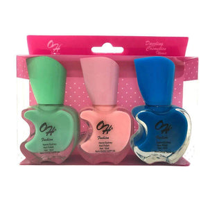 OH Fashion Nail Polish Apple Bite SET SYDNEY - Superpharma Corporation - ohfashion