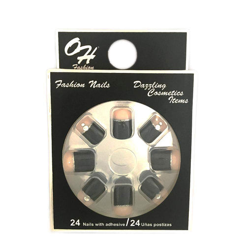 OH Fashion Stick On Nails Party Diamonds - Superpharma Corporation - ohfashion