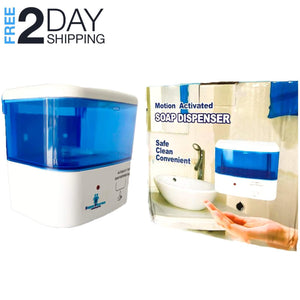Automatic Hand Sanitizer Dispenser Touch-less Medium-Capacity 16.9 oz/ 500 ml