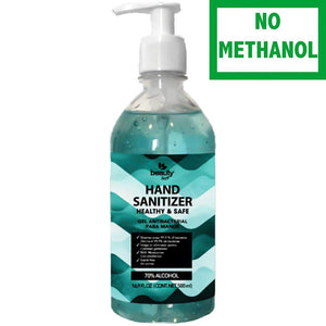 Hand Sanitizer with Pump 16.09 oz Antibacterial Gel 70% Alcohol - Does Not Contain Methanol