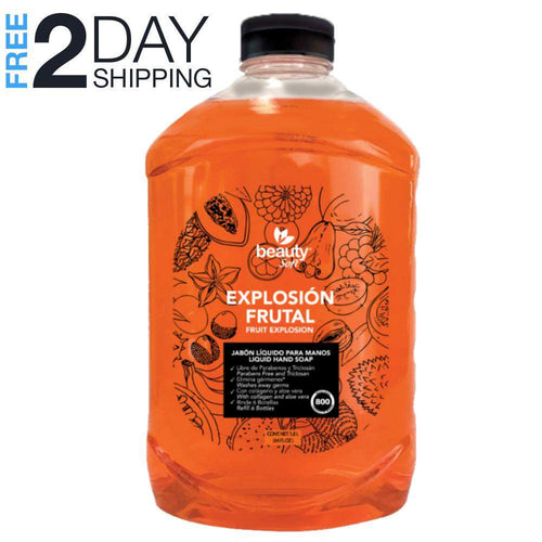 Superpharma Liquid Hand Soap Refill, Fruit Explosion, 64 oz