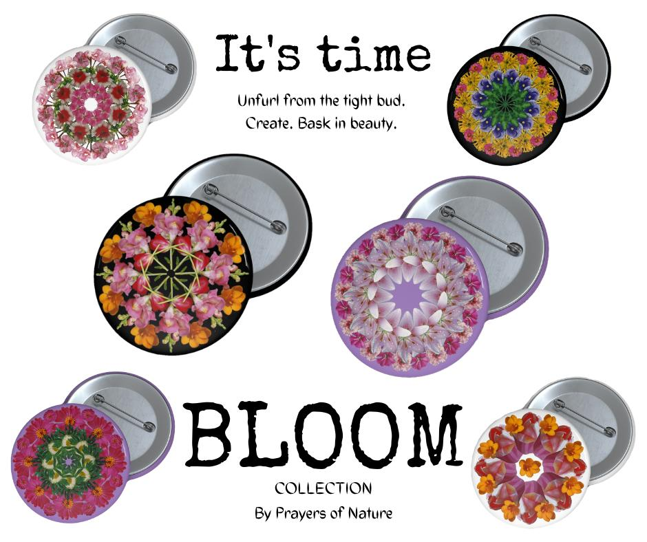 Bloom Collection Mandala Pins