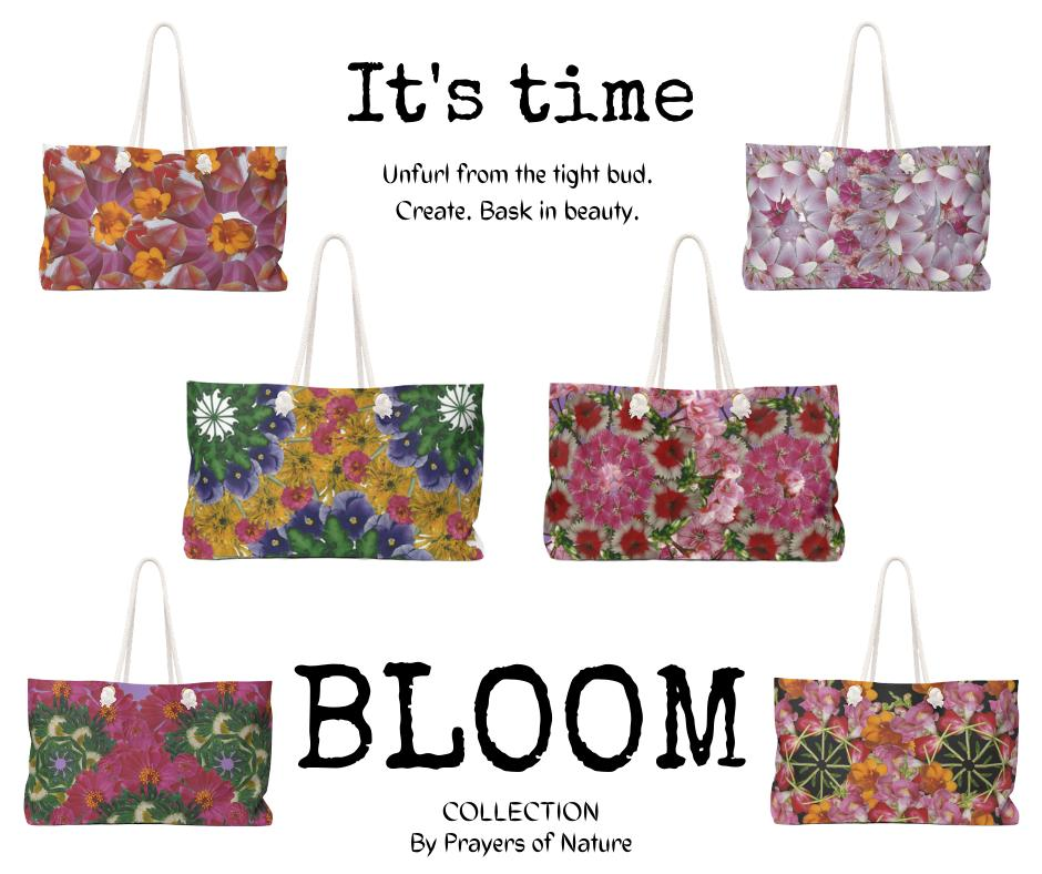 Bloom Collection  Weekender bags