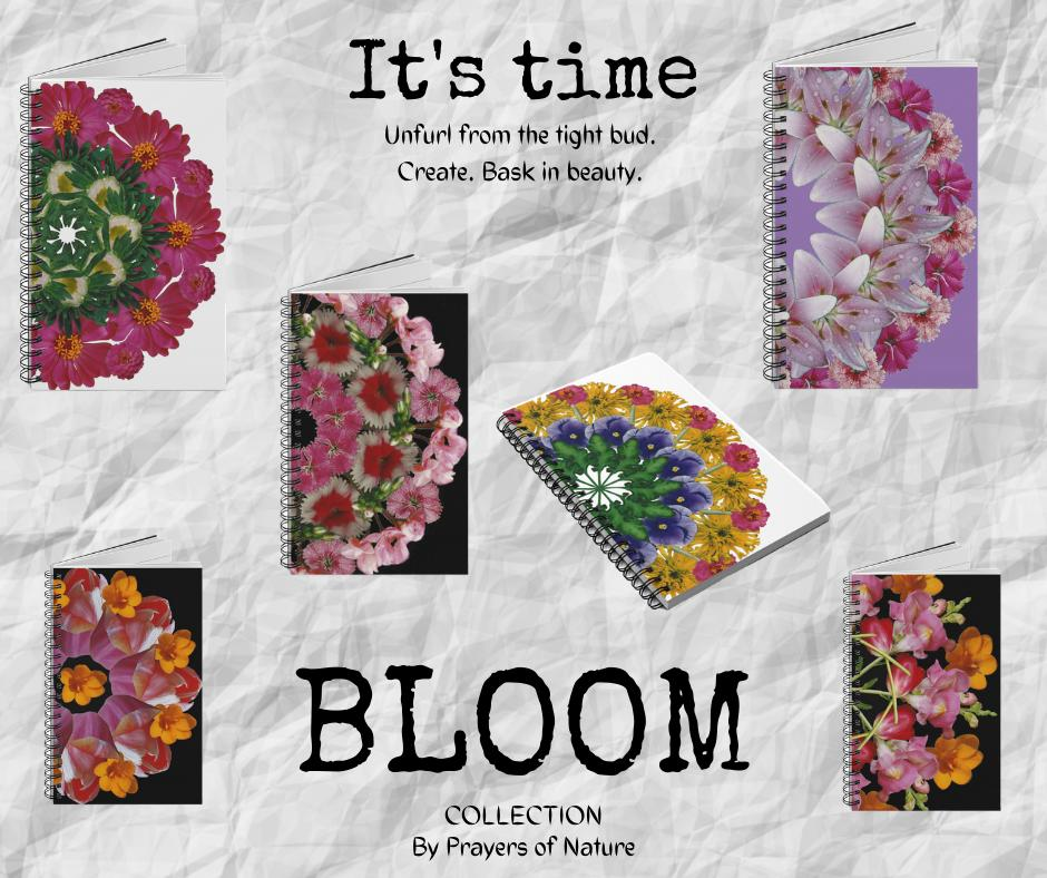 Bloom Collection Mandala Notebooks