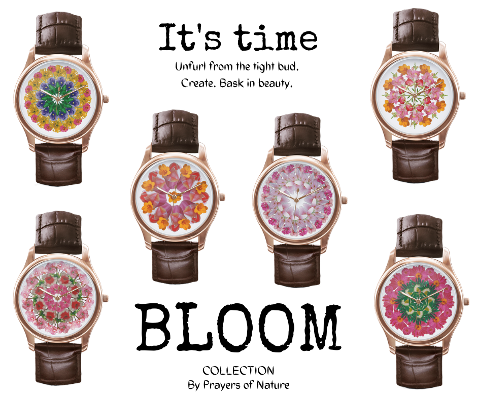 Bloom Collection Mandala Watches