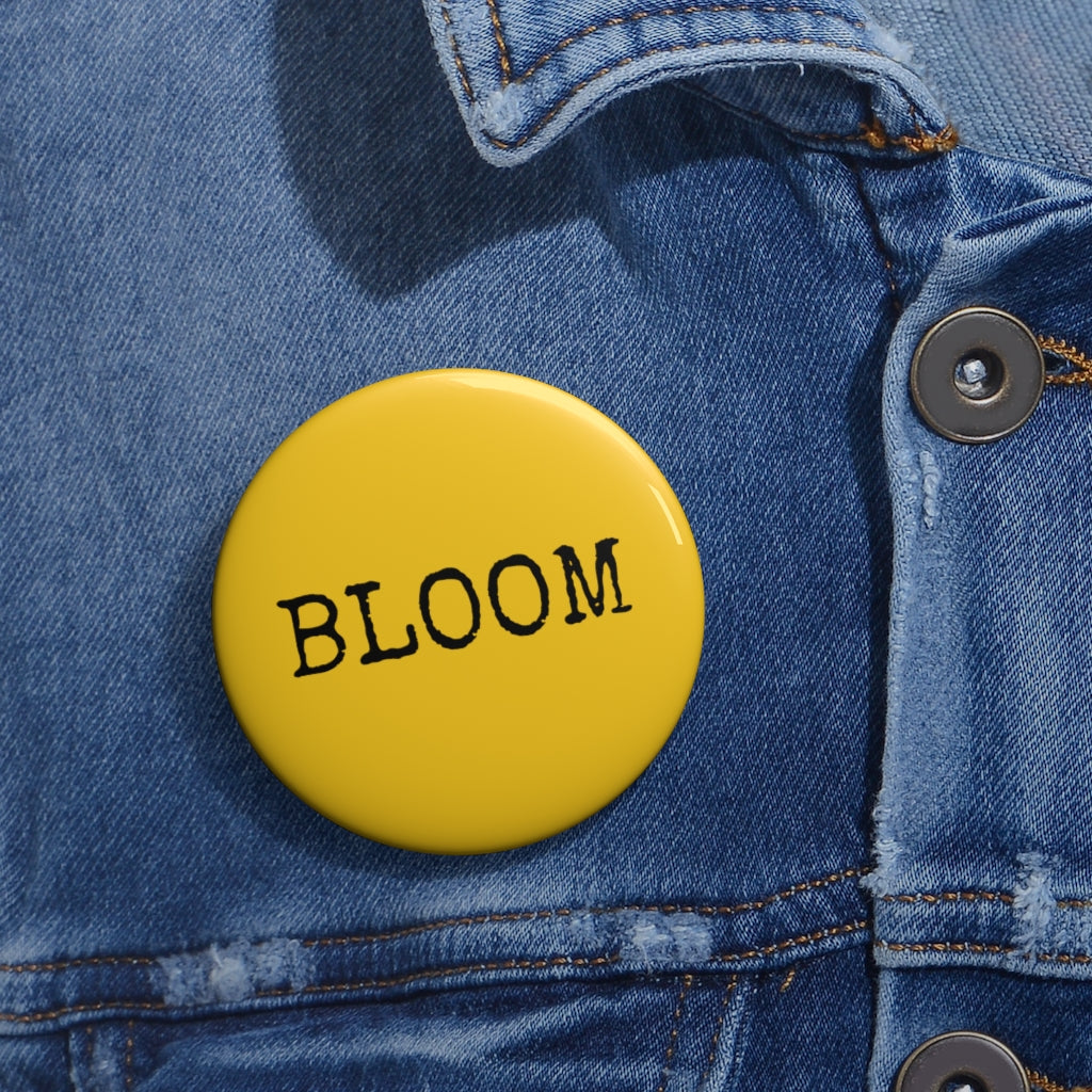 Bloom Yellow Pin