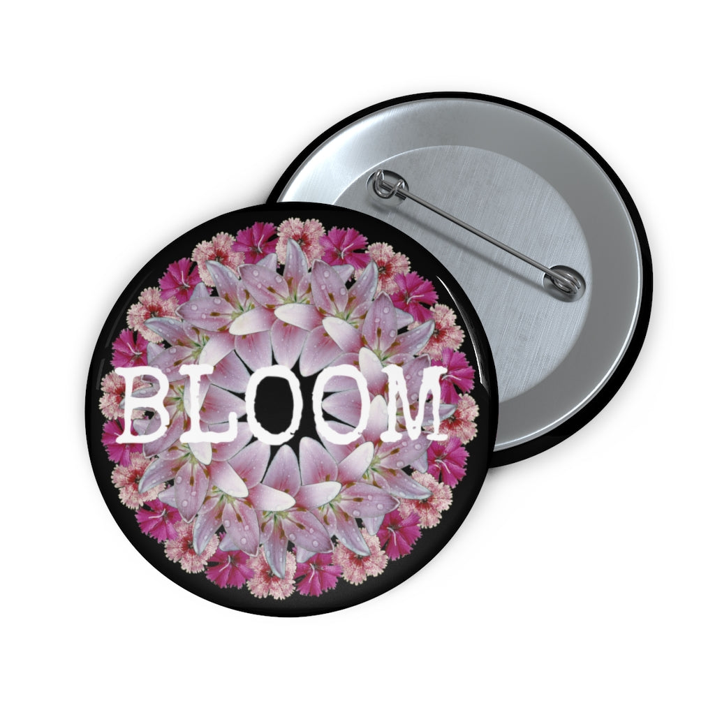 Dianthus & Lily BLOOM Black Pin