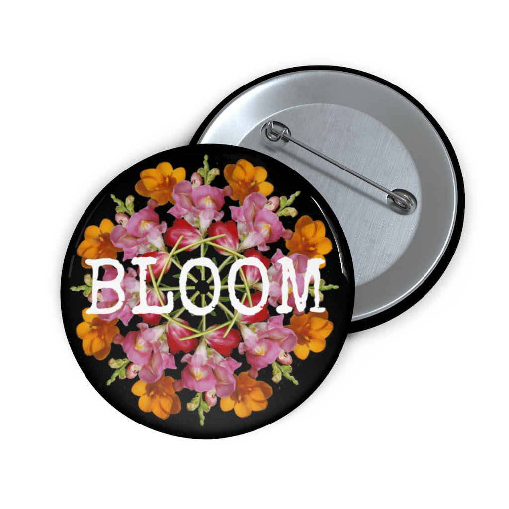 Snapdragon & Tulip BLOOM Black Pin