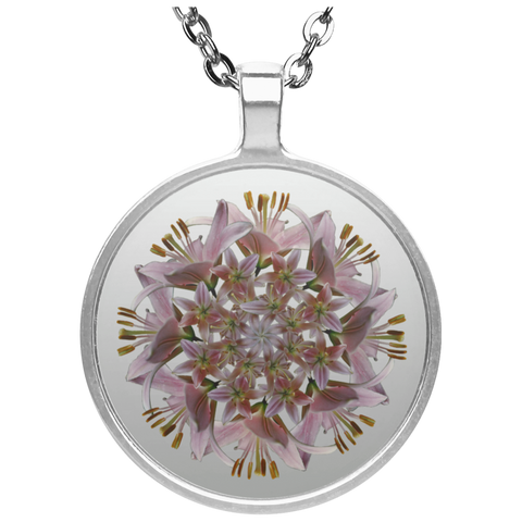 Flower Mandala I Am Unconditional Love Necklace