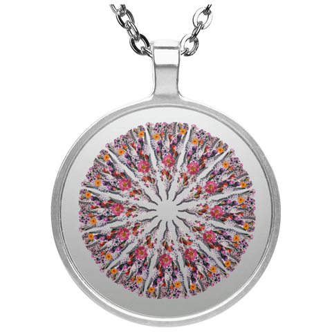 Flower Mandala I Am Limitless Potential Necklace