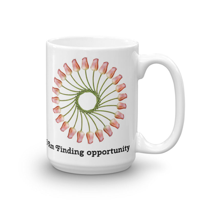I Am Finding Opportunity Mug