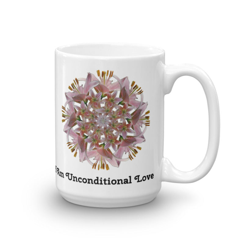 I Am Unconditional Love Mug