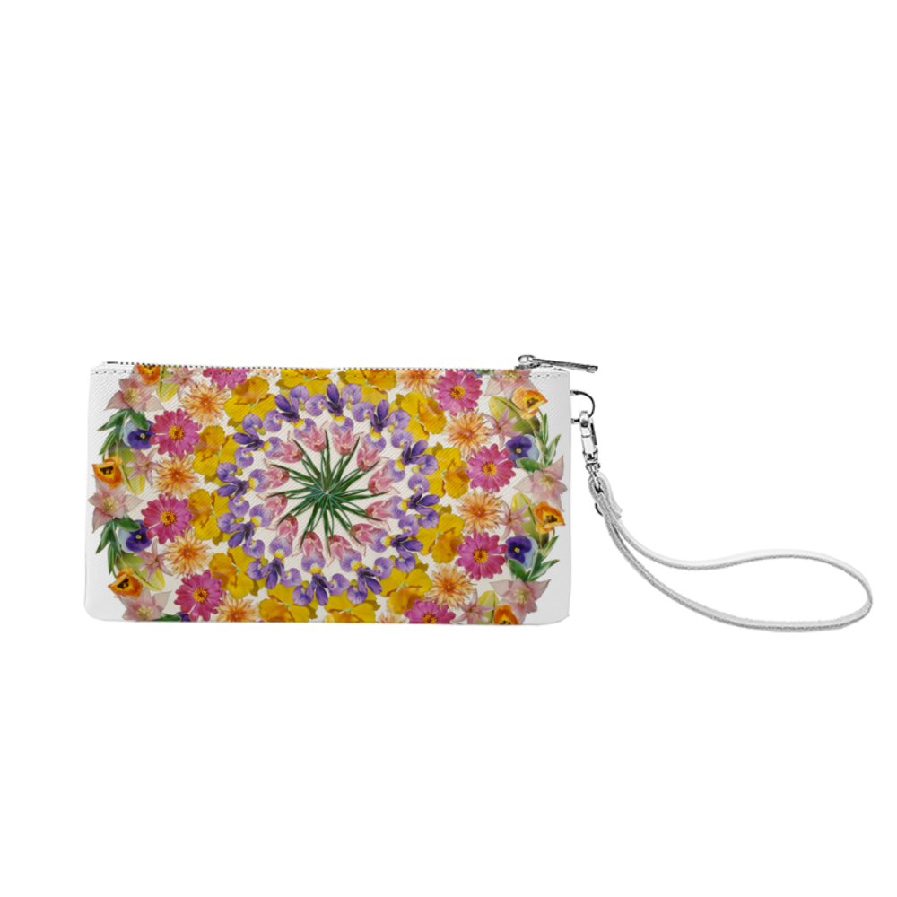 I Am Confident Mandala Clutch Purse