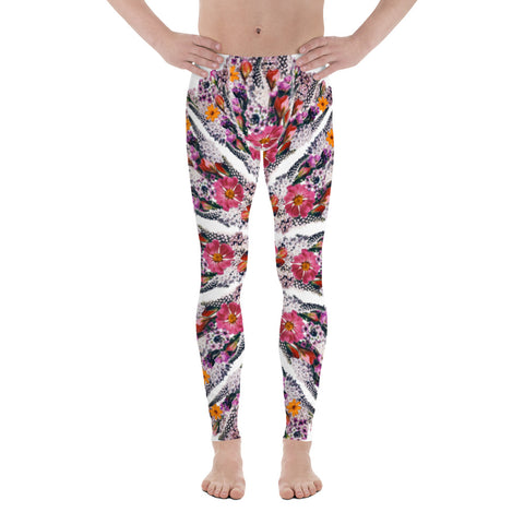 Flower Mandala I Am Limitless Potential Men's Leggings