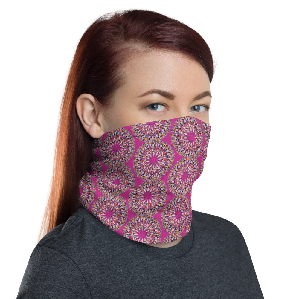 I Am Limitless Potential Face Shield Pink