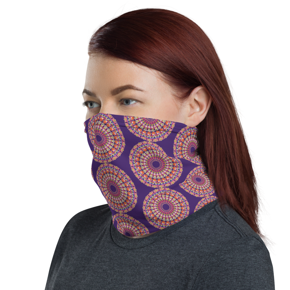 I Am Love Face Shield Purple