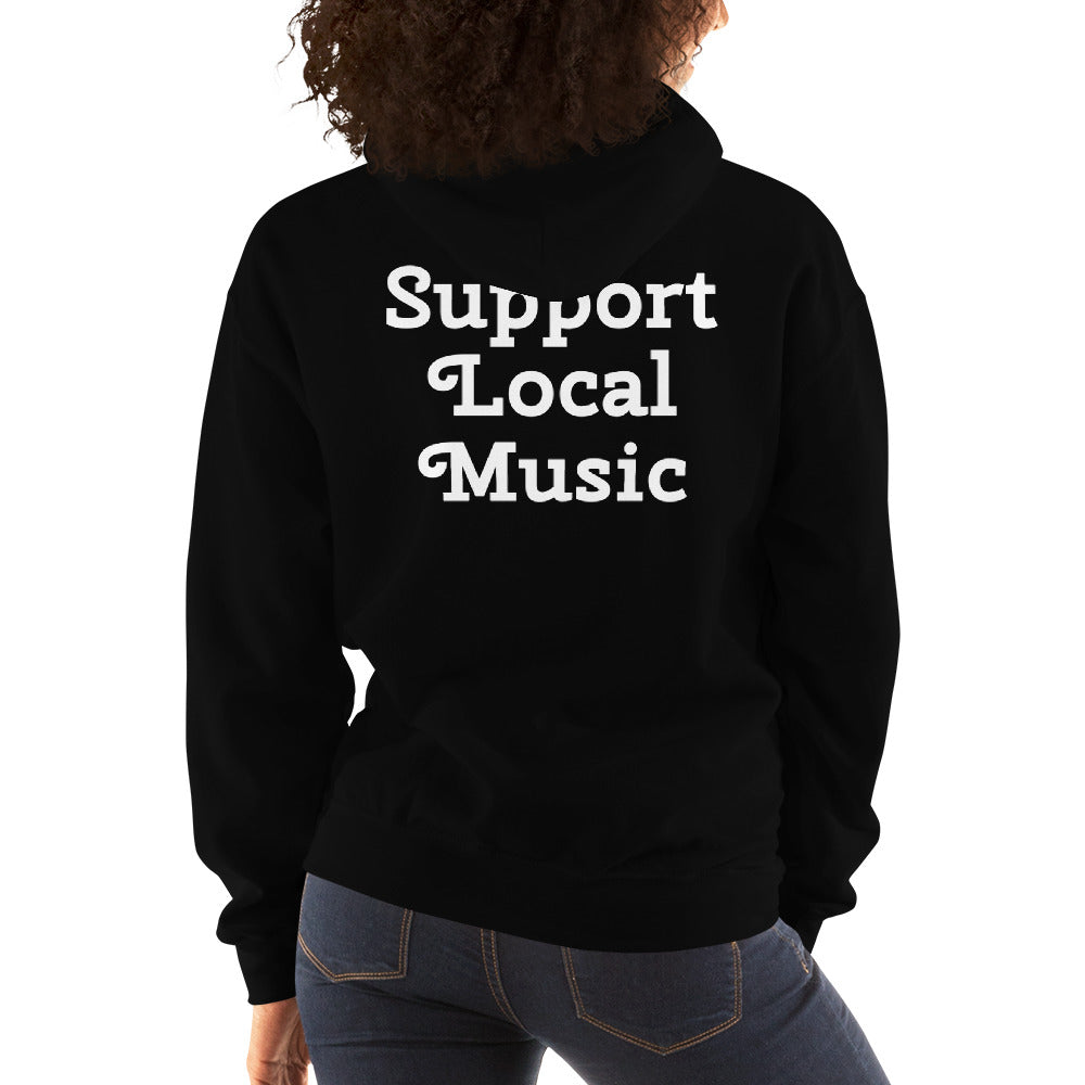Support Local Music HHR Unisex Hooded Sweatshirt
