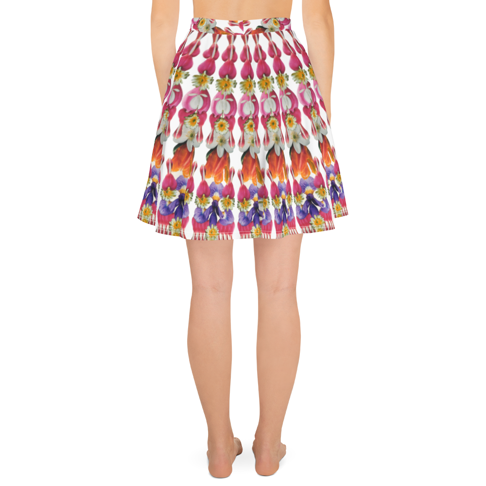 I Am Love Mandala Skater Skirt
