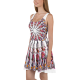 I Am Limitless Potential Mandala Skater Dress