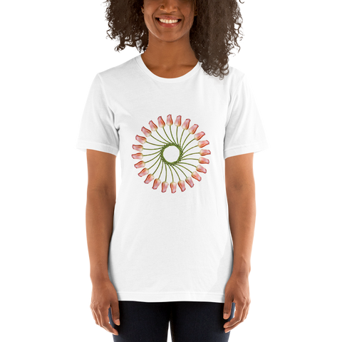 Flower Mandala I Am Finding Opportunity Short-Sleeve Unisex T-Shirt