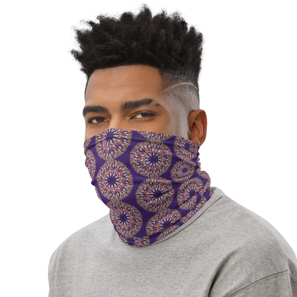 I Am Limitless Potential Face Shield Purple