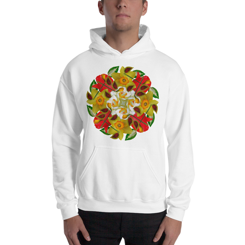 Flower Mandala I Am Complete Hooded Sweatshirt