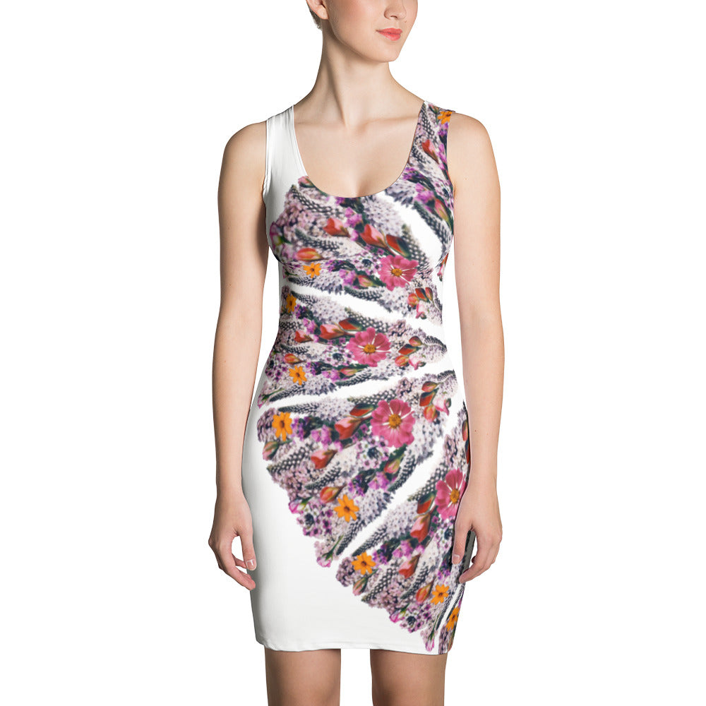Flower Mandala I Am Limitless Potential Crescent Dress