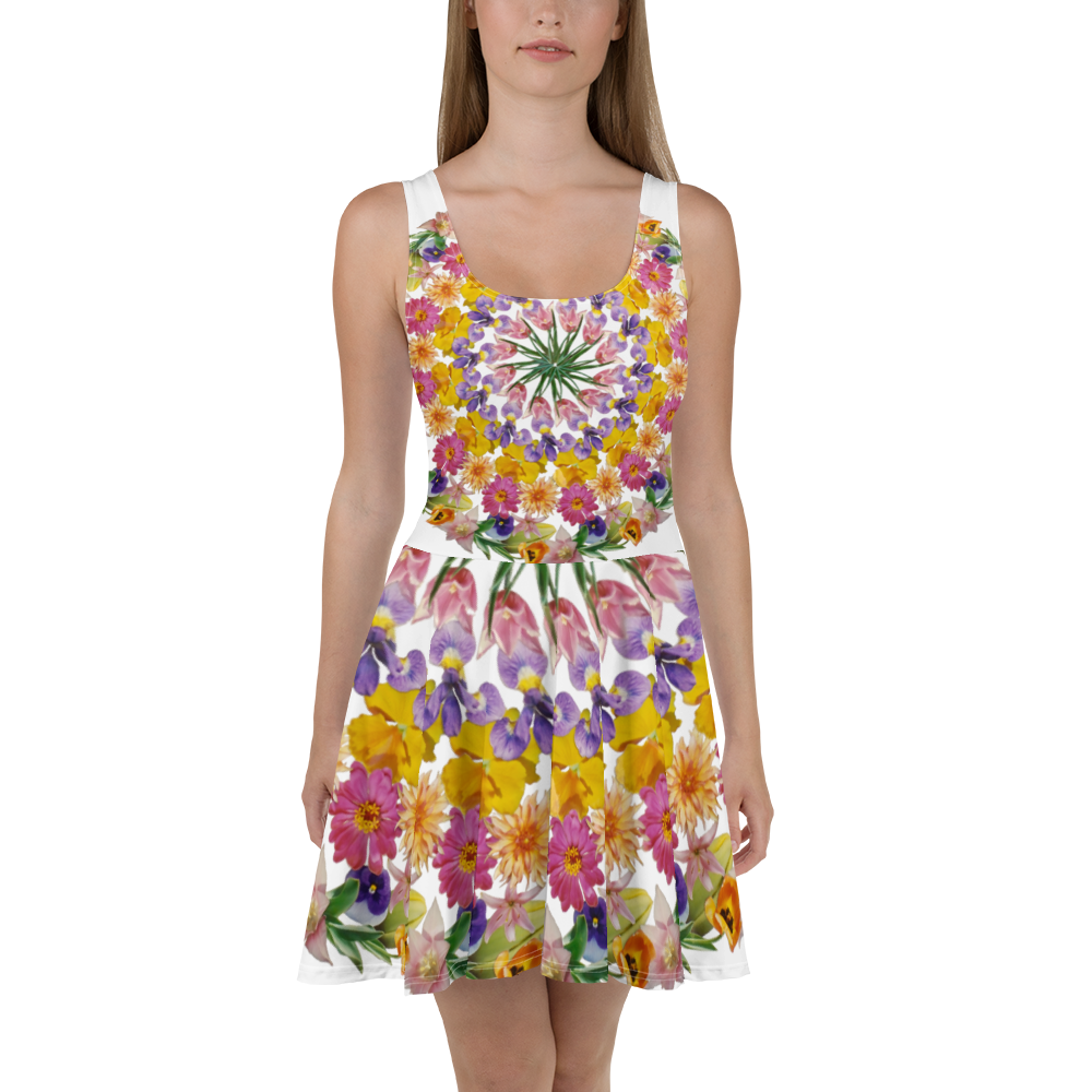 I Am Confident Mandala Skater Dress