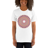 Flower Mandala I Am Love Short-Sleeve Unisex T-Shirt