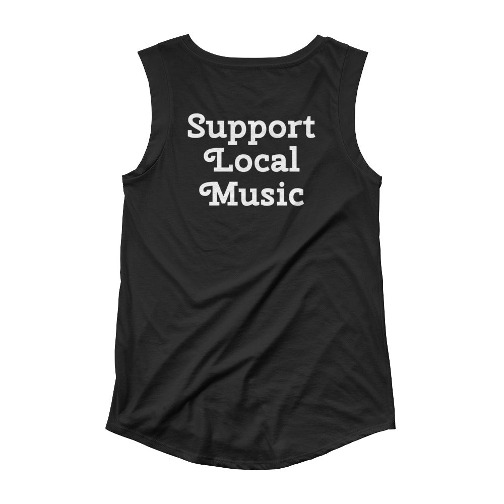 Support Local Music HRR Cap Sleeve T-Shirt
